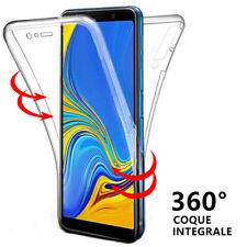 Coque Silicone Intégrale Samsung Galaxy A7 A8 2018 A3 A5 A6 A10 A20e A40 A50 A70
