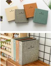 Jute Burlap Polaroid 100 Pkt Mini Photo Album FujiFilm Instax 7 8 90 Fuji Film