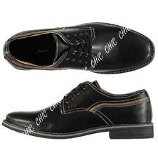 Lee Cooper Herren Weiches Leder Schnürschuh Derby Style Porter Schuhe Rrp £ 54.99 schwarz