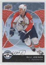 2007-08 Upper Deck Mini Jersey Collection #41 Olli Jokinen Florida Panthers Card