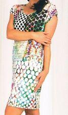 Graziella - Kleid, Strandkleid, Badekleid, Viskose - weiß / bunt 36 - 46
