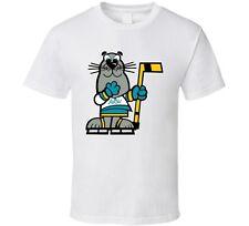 California Golden Seals Mascot Sparky Wha T Shirt - White