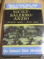 LO SBARCO in Sicilia SALERNO Anzio Seconda Guerra Mondiale Samuel Eliot Morison