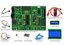 PIC Development Board easyPIC-40 Kit PICKIT3 LCD1602 LCD12864 DS18B20 Step Motor