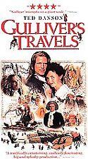 NEW 2 VHS Gulliver's Travels: Ted Danson Steenburgen Gielgud Sharif O'Toole Fox