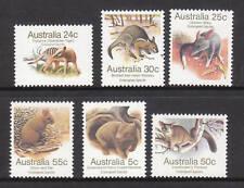 1981 Australian Animals - MUH Complete Set of 6 Stamps