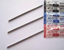 ZEBRA 4C 0.7mm SMALL/MINI BALLPOINT PEN REFILL ONLY. BLACK/BLUE/RED. (Japan).