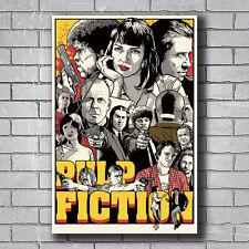 New Classic Movie Film Kill Bill Pulp Fiction Custom Poster Print Art Decor T119