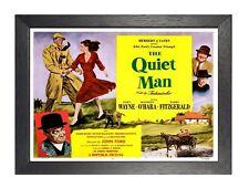 The Quiet Man Movie Vintage Poster American Romantic Comedy Film Photo Print