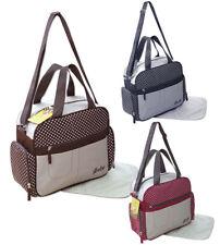 2 tlg Wickeltasche Pflegetasche Windeltasche Babytasche Farbauswahl 2130