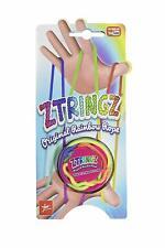 ZTringz Rainbow Rope Fadenspiel Fingerspiel mehrfarbig Geschicklichkeitsspiel