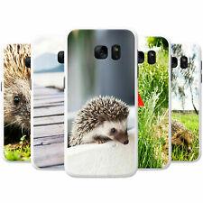 Prickly Hedgehog Snap-on Hard Back Case Phone Cover for Samsung Mobile Phones