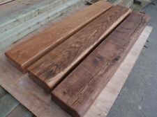 "6""x 3"" Air dried Solid oak beam mantel piece, fireplace, floating shelf"