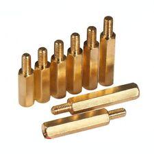 M3 x 4mm-20mm Female-male Hex Brass Spacer Screw Motherboard Standoff Riser