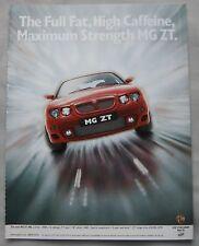 2001 MG ZT Original advert