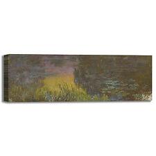 Monet ninfee 29 design quadro stampa tela dipinto telaio arredo casa