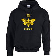 212 Gold Moth Hoodie barrel stamp breaking heisenberg bad vintage bee meth new