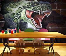 3D Dinosaur 5 Wallpaper Murals Wall Print Wallpaper Mural AJ WALL AU Lemon