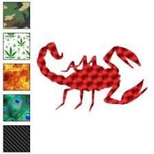 Scorpion Stinger Decal Sticker Choose Pattern + Size #601