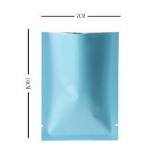 7cmx10cm azul brillante Bolsas Plano bolsa sin olores Mylar TIPO CALOR Sellador