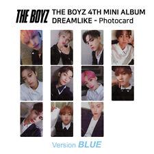 THE BOYZ 4th mini album Dream Like Official Photocard Blue Version KPOP K-POP