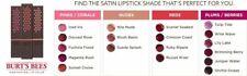 Burt's Bees 100% Natural Moisturizing Lipstick You Choose New Sealed