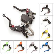 "Universal Motorcycle Hydraulic Master Cylinder Reservoir Brake Clutch Lever 7/8"""