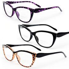 071e8c7094 Bifocal Vision Cat Eye Women s Reading Glasses 200-350