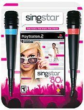 SingStar '80s Bundle (Sony PlayStation 2, 2007)