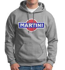 Retro Martini Racing Pull-Over Hoody Sweatshirt Le Mans Vintage Porsche AHRMA