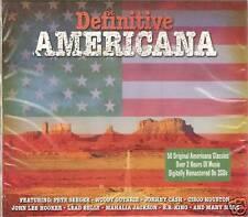 DEFINITIVE AMERICANA 2 CD SET 50 CLASSICS