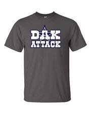 "Dak Prescott Dallas Cowboys ""Dak Attack"" Football Youth & Mens T-Shirt"