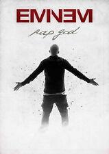61701 Eminem Rap God Wall Print Poster CA