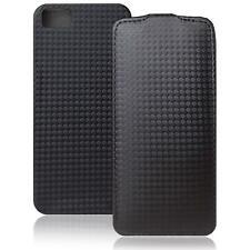 Handytasche Schutz Hülle Klapp Tasche Flip Cover Case Handyhülle Carbon Optik