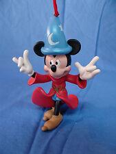 Fantasia Sorcerer's Apprentice Mickey Mouse Christmas Ornament Disney Store 2011