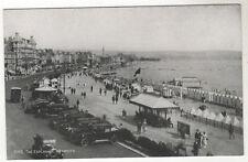 Cars On Esplanade - Weymouth Photo Postcard c1930