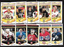 1992-93 PANINI 1993-94 SCORE DURIVAGE GRAND HOCKEYEURS NHL HOCKEY CARD SEE LIST