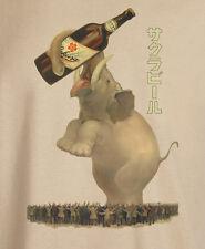 Vintage Japanese Advertising Poster Sakura Beer Reproduction T-Shirt