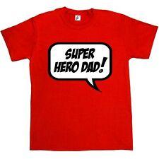 Semplicemente dicendo Super Eroe PAPA 'Padri Giorno Regalo Di Compleanno Natale T-shirt da uomo