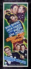 RADIO CITY MUSIC HALL REVELS * CineMasterpieces INS ORIGINAL MOVIE POSTER 1938