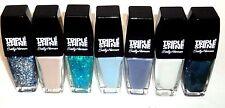 1 SALLY HANSEN Triple Shine Nail Polish Nail Color Nail Enamel Asst Shades #St1
