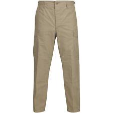Propper BDU Trousers Button Fly Mens Combat Ripstop Patrol Uniform Pants Khaki