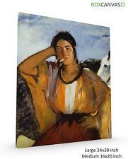 Edouard Manet French Impressionist Gitane Avec Une Cigarett CANVAS WALL ART