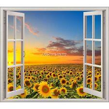 Adesivo finestra decocrazione Girasoli ref 5438 5438
