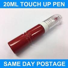 OPEL Rojo Lava 50s Pincel de retoque Botella Cepillo Pintura Reparación chip