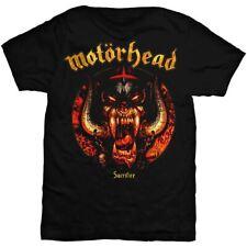 Official Licensed Motorhead Sacrifice Logo Black Crew Neck T-Shirt | Sizes S-XXL
