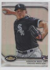 2012 Topps Finest Refractor #86 Addison Reed Chicago White Sox Baseball Card
