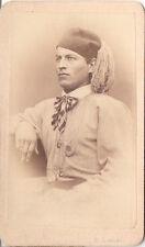D. Lenzi CDV photo Feiner Herr / Adel Österreich Ungarn Italien - 1860er