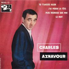 CHARLES AZNAVOUR Tu T'Laisses Aller Paul Mauriat FR Press Barclay 70 315 EP