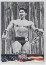 2012 Panini Americana Heroes & Legends Silver Proof #122 Tommy Kono Card